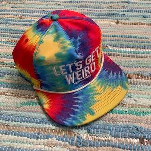 Tie Dye Snapback Hat
